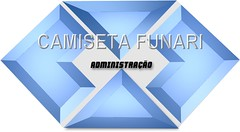 simbolo administraçao azul metalizado