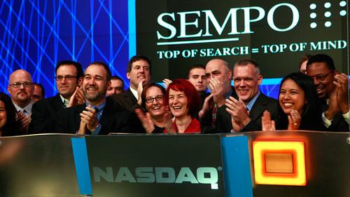 SEMPO Ringing NASDAQ Bell