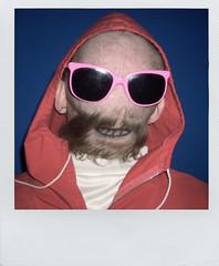 COGOTE (Xox Ttano) Tags: polaroid costume disguise disfraz carnaval polaroids reverse neckface carneval cogote colleja leliloro caranuca hombrealrevs
