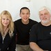 Daryl Hannah, Eric Cheng and Captain Paul Watson
