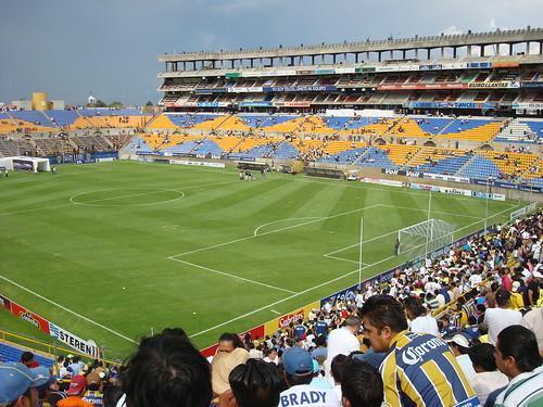 Estadios de los clubes de futbol en mexico