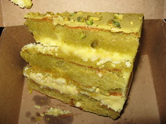 Momofuku Bakery & Milk Bar: Pistachio cake (another view)