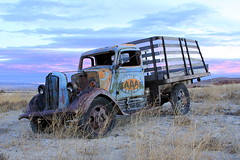 Got AAA? (Elisabeth Shroyer Photography) Tags: truck wyoming newcamera aaa rustyandcrusty southfork 50d iloveoldtrucks