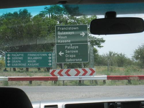 Making progress in southern Botswana