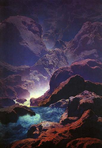 027-Luz de Luna 1932-oleo-fuente CGFA
