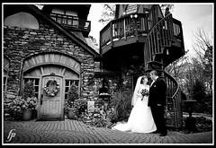 couple at a castle (fensterbme) Tags: wedding work interestingness weddingphotographer loudonville interestingness156 i500 landollsmohicancastle fenstermacherphotography columbusohioweddingphotographer knowlesstimmel explore17dec08