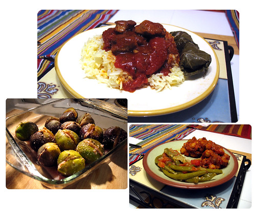 The Gastronati's Lebanese and Syrian food night