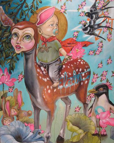 hjort by Bright Side Tattoo Gallery