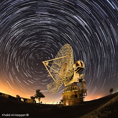 Still Broadcasting !! (Khalid AlHaqqan) Tags: longexposure nightphotography abandoned station night canon stars media fisheye broadcasting khalid marvelous startrail 40d kuwson omalaish alhaqqan starstrail canon40d sigma10mmf28exdchsmfisheye khalidalhaqqan omalaishstation