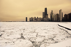 Ice-Choked Lake Michigan (rjseg1) Tags: winter lake chicago ice lakemichigan lakefront segal floe rjseg1