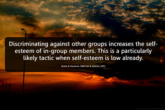 self-esteem, groups and hate