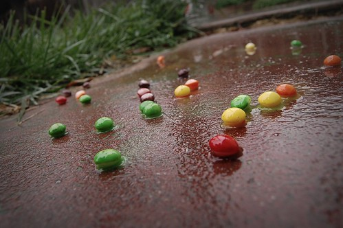 chocolate lover daughter skittles skittles raining
