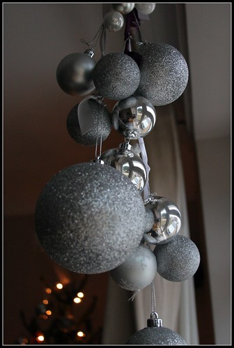 Handmade bauble decoration