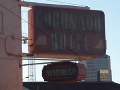 Coronado Hotel sign