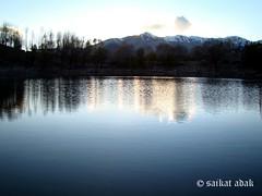 the beautiful NAKO LAKE (saikat adak) Tags: sunset shadow lake tree nature colors beautiful beauty scenery sony dsc spiti himachalpradesh h50 naturemasterclass sonydsch50 mindigtopponalwaysontop