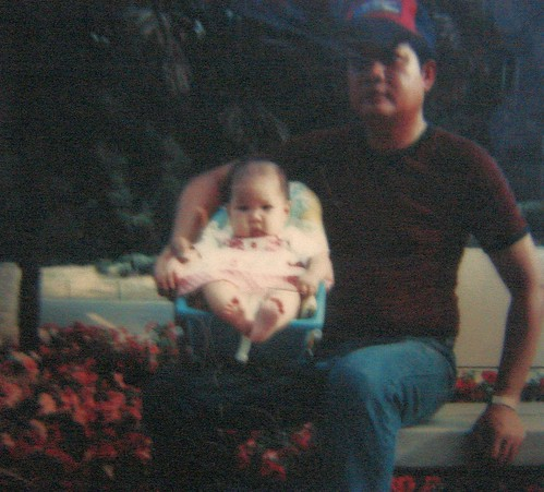 Baby Irene and Dad