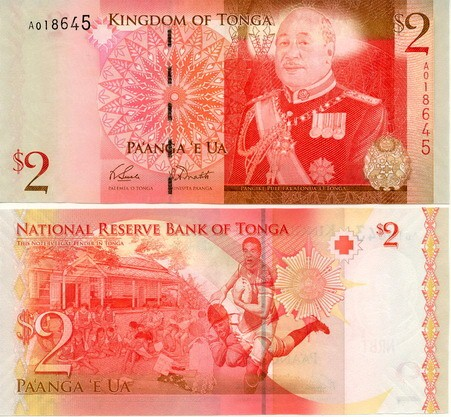 Tonga 2009 new 2 Pa Anga