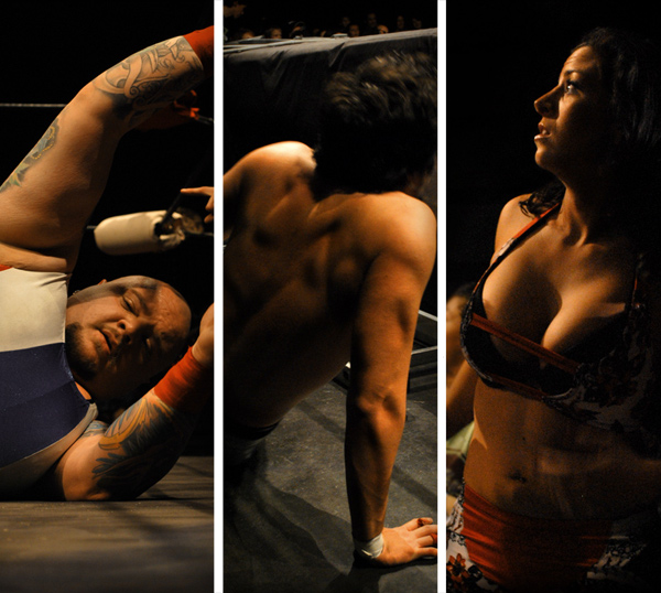 catch, wrestling, caravage