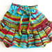 Spring Rainbow skirty