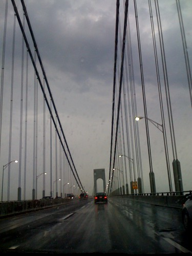 Verrazano Bridge - back to Brooklyn, vacationette over
