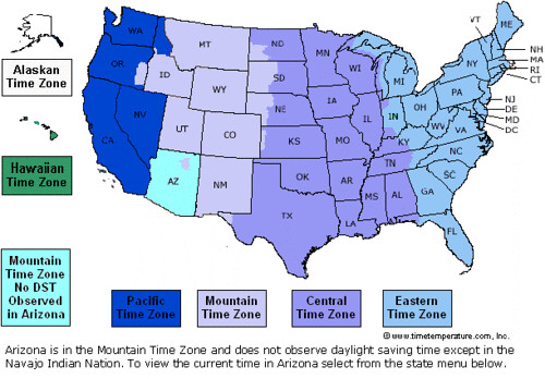 Blog Spot Go Time Zones Map Canada - Current time zone map of the us