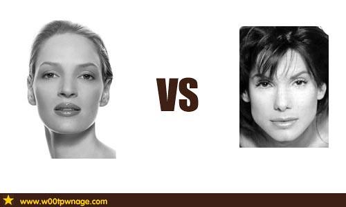 Uma Thurman vs Sandra Bullock