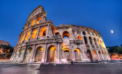 The Colosseum by Night - (HDR Rome, Italy) (blame_the_monkey) Tags: longexposure travel italy rome roma history architecture night photoshop photo nikon italia roman tripod wideangle pic architectural historic colosseum blended nik bluehour digitalphoto hdr highdynamicrange d3 hdri blend topaz colosseo photoshopeffect postprocessing travelphotography travelphoto photomatix digitalblending tonemapped tonemapping 1424 hdrphoto niksoftware detailenhancer topazadjust blamethemonkey elilocardi elialocardi