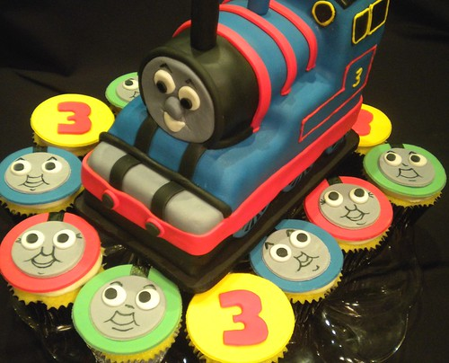 Thomas the Tank and Cupcakes