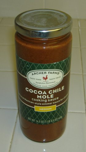 Target's Cocoa Chile Mole Cooking Sauce