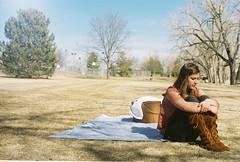 785217-R1-035-16_016_film (ALL UP ON YOU) Tags: trees girl grass cat colorado picnic basket hannah down pack blanket sack mack tack lack lakeloveland fannah gannah