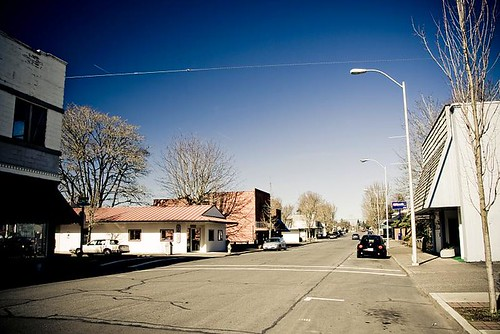 The Streets Of My Hometown - 3rd Ave in Stayton Oregon