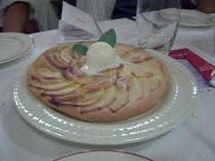 Apple Tart at Flo, Toulouse, FR