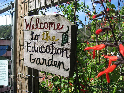 The education garden.