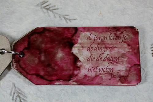 acrylic tag album