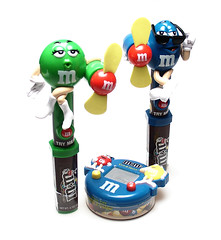 M&Ms Toys with Candy