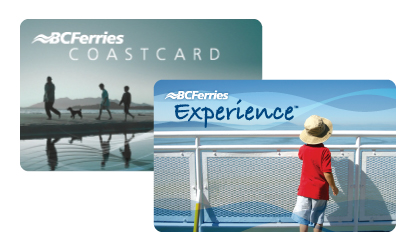 BC Ferries Coast and Experience Cards