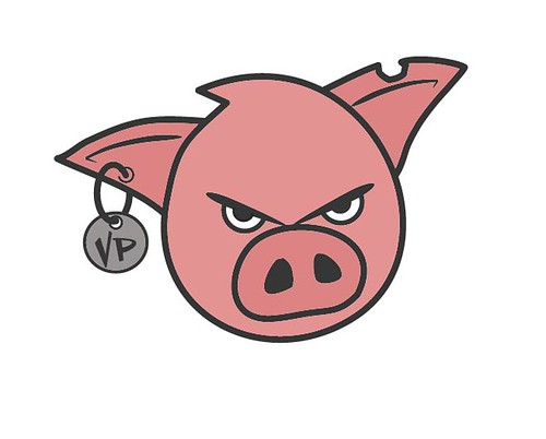 Vicious Pig Logo Final- Alternate Colored - a photo on ...