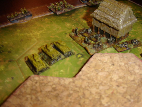 Japanese tank platoon crush American left flank - Battle for Middle Village