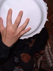 Splat (splishsplash1123) Tags: beer pudding pies eggs nylon wam gunge