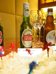 Stella Artois. The Table Beer.