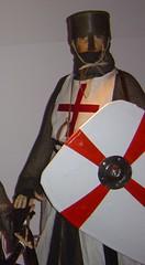 ca. 1150 - 'Knight Templar', replica, Bischöfliches Dom- und Diözesanmuseum, Mainz, 'De Kruistochten', Museum Catharijneconvent, Utrecht, Holland (roelipilami (Roel Renmans)) Tags: kite museum de utrecht helmet norman replica schild knight shield chevalier mainz nasal kopie helm caballero templar crusades ridder copie tempelritter templario catharijneconvent templier replika kruistochten tempelier normandische