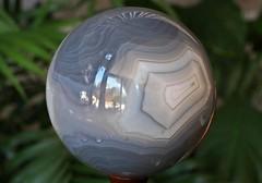 Blue Lace Agate Geode Sphere 0010 (schwigorphotos) Tags: blue agate lace sphere geode 0010