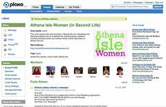 Athena Isle Women (Plaxo)