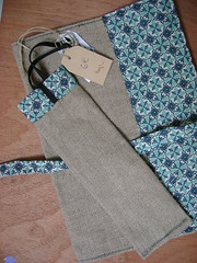 crafs: book cover linen and cotton...#090