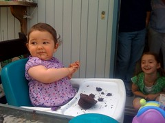 Photo titled First birthday girl