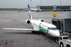 Gate 81 (caribb) Tags: canada airport gate montréal quebec montreal jetty jazz apron québec a330 concourse crj yul aircanada regionaljet airtransat trudeauairport a330300 cyul transborderjetty cgkts a330321