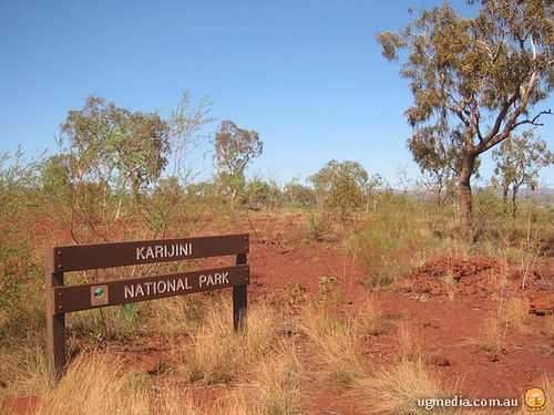 Karijini National Park sign