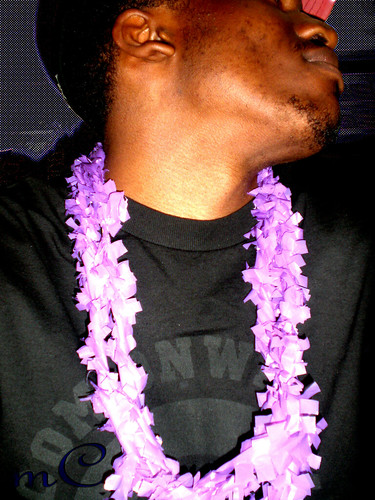 Purple Leis