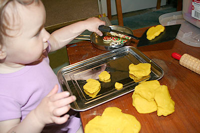 Playdough Sandwiches