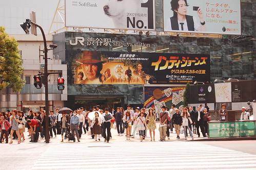 Indy Jones in Shibuya